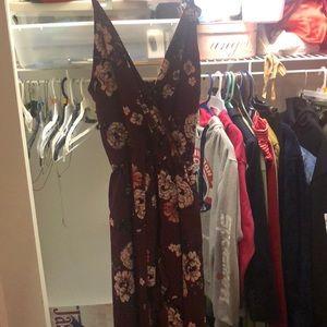 Maxi short dress
